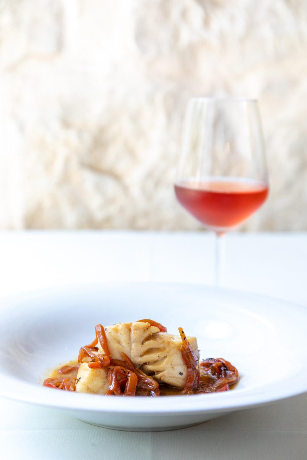Gallinella in guazzetto con peperoni